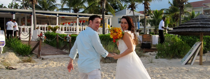Justyna & Ken, Grace Bay Beach