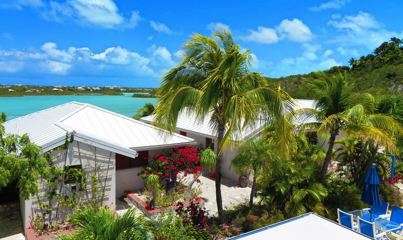Wedding accommodation at Harbour Club Villas and Marina a six villa estate on Providenciales Turks and Caicos Islands